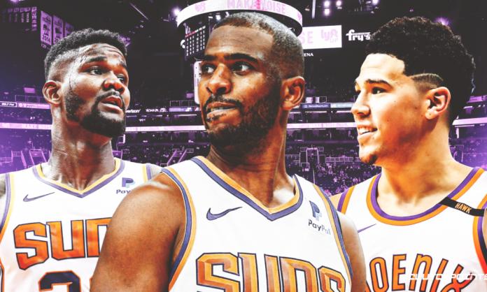 Suns, Chris Paul, Devin Booker, Deandre Ayton