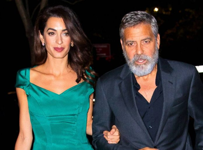 George and Amal Clooney 'Thrilled to Be Back' on Lake Como with Twins Ella and Alexander, 4!