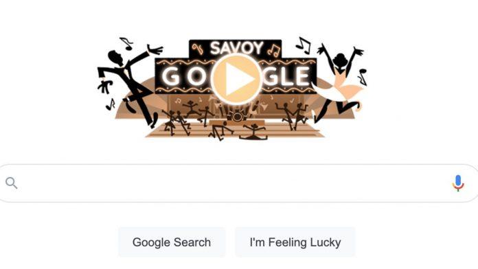 Google Doodle Makes Savoy Ballroom Game to Celebrate Harlem's Historic Dance Hall!!!