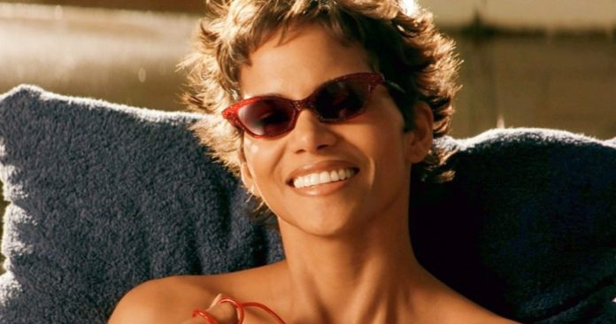 Halle Berry Takes a Topless Walk in the Woods 20 Years After Going Nude in Swordfish