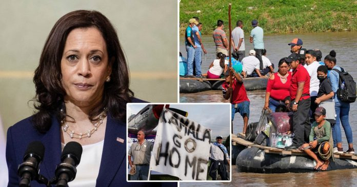 Kamala Harris urges migrants 'do not come' to US as border crossings surge