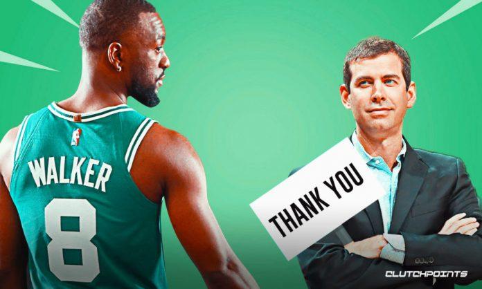 Celtics, Kemba Walker, Brad Stevens