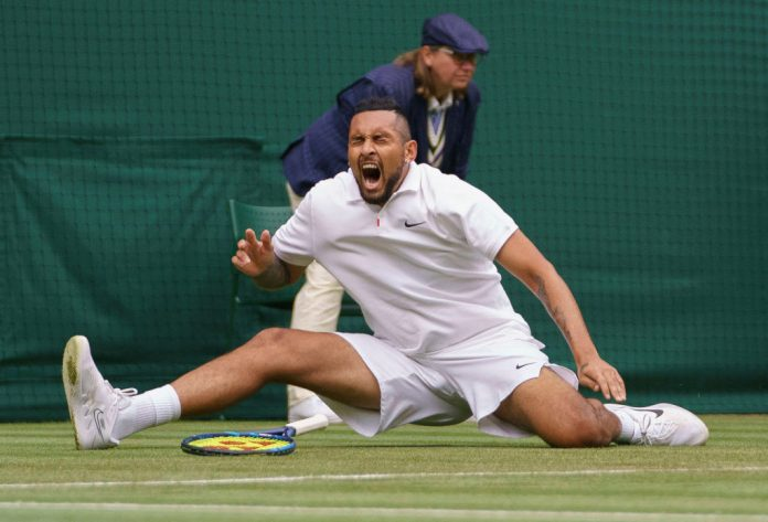 Nick Kyrgios reacts to 'devastating' Serena Williams Wimbledon exit after surviving own 'brutal' fall