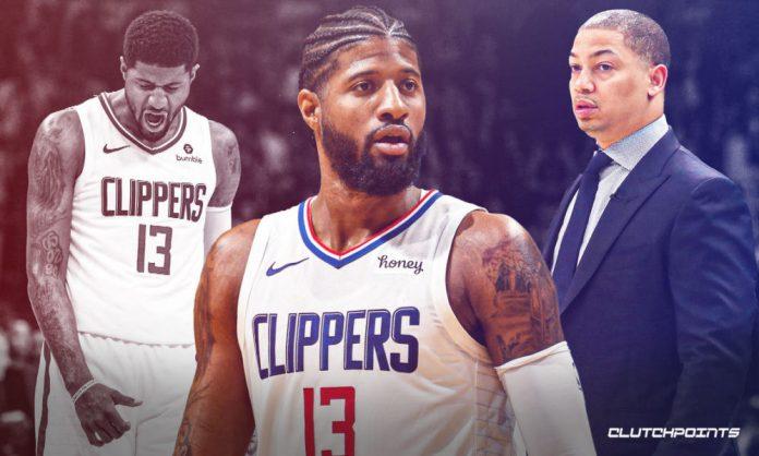 Clippers, Paul George, Tyronn Lue