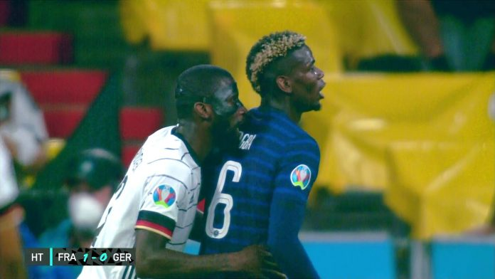 Paul Pogba speaks out on Antonio Rudiger bite after France beat Germany