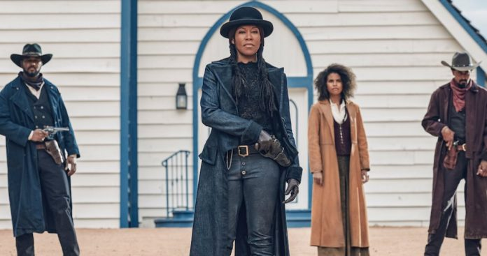 Regina King Trends After Fans Get a First Look at Netflix Western The Harder They Fall