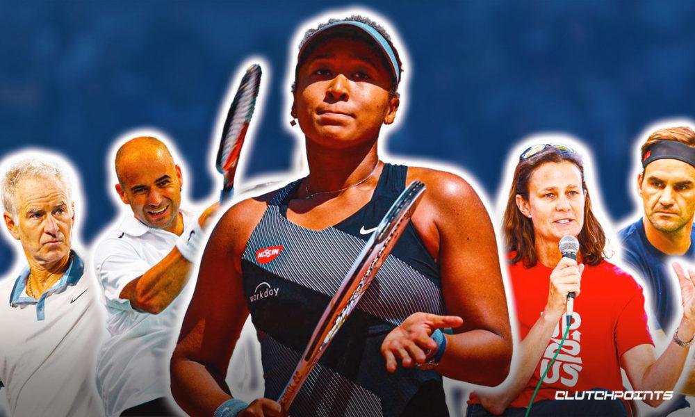 Naomi Osaka, Pam Shriver, French Open