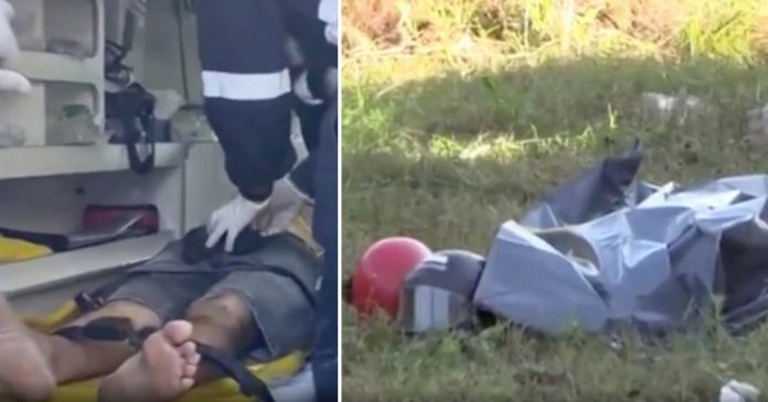 Body bag filmed moving after medics wrongly declared motorcyclist was dead