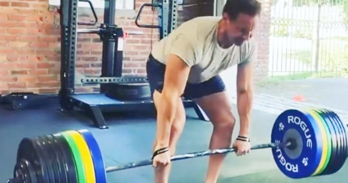 Patrick Wilson Shares Intense Aquaman 2 Training Video